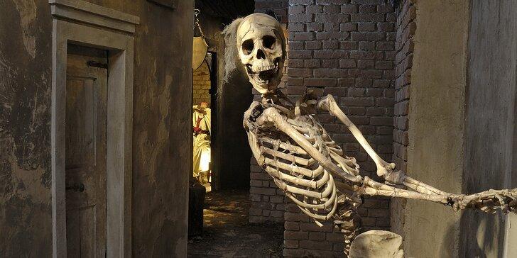 Přijďte se bát: vstupy do Muzea pražských pověstí a strašidel pro dva i rodinu