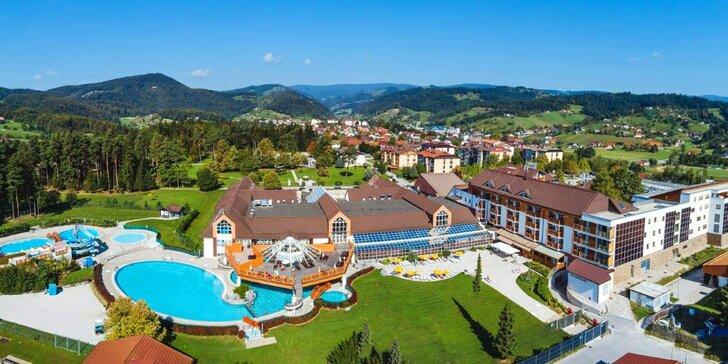 Wellness pobyt ve slovinském Zreče: termální komplex, sauny a polopenze