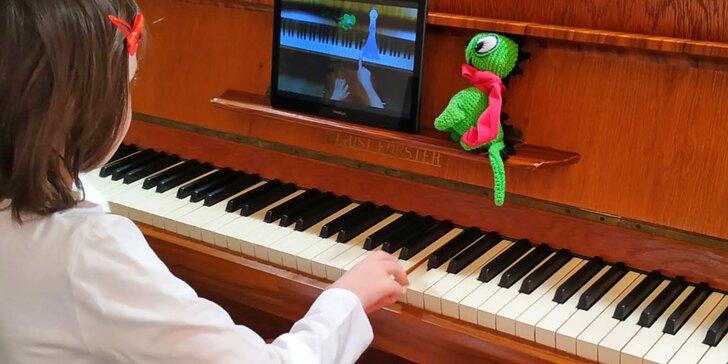 Učení zábavnou formou: pohádková klavírní přípravka pro děti od 4 do 8 let