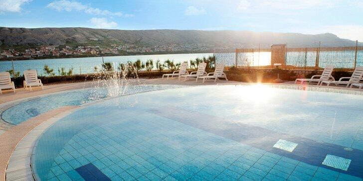 Dovolená v Chorvatsku: all inclusive v hotelu u oblázkové pláže