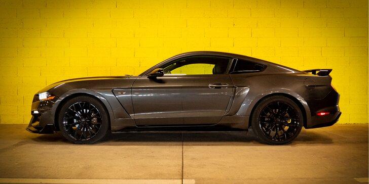 Splňte si svůj sen: pronájem Fordu Mustang bez instruktora na 1,5 hod. nebo rovnou celý víkend