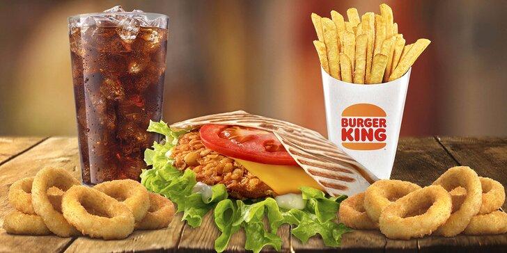 Voucher na 1 + 1 menu zdarma v Burger Kingu: Crispy chicken nebo Steakhouse