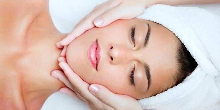 Kosmetický balíček: hloubkové čištění, pečující masky i relaxační masáž