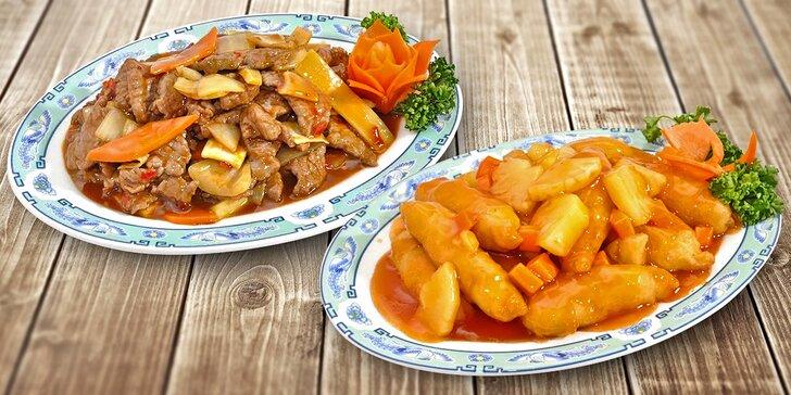 Čínská restaurace v 18. patře: dárkový voucher na menu v hodnotě 400 Kč