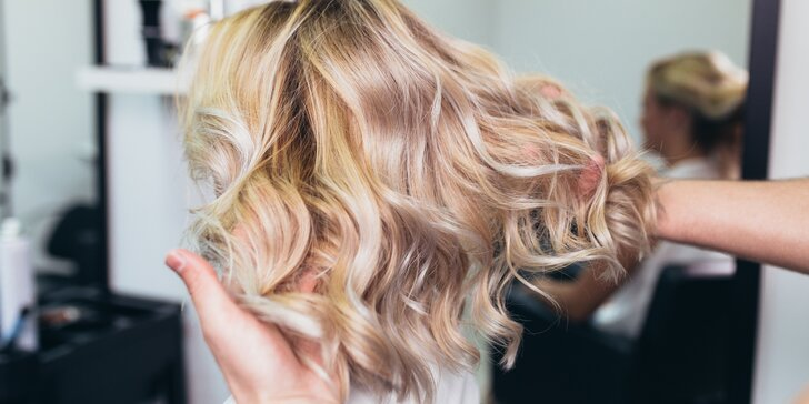 Pánský střih i dámské kadeřnické balíčky pro všechny délky vlasů