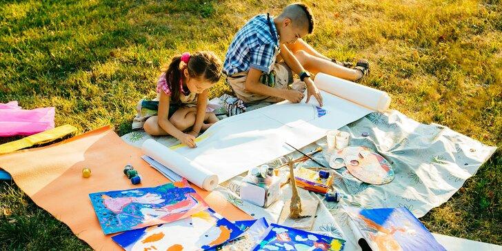 Pro malé umělce: Letní příměstské tábory kresby a malby pro děti od 6 let
