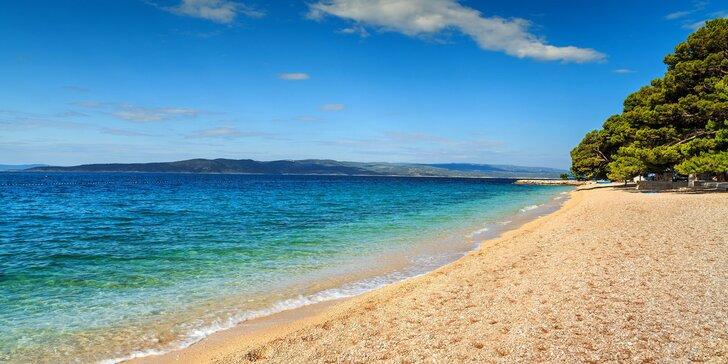 Dovolená v chorvatské Brele: 3* hotel se snídaní, hned u pláže a s bazénem