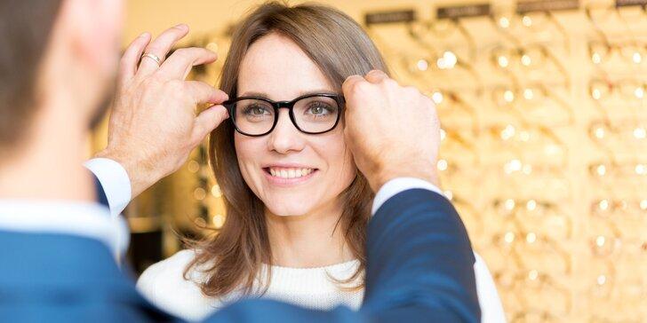 Kompletní dioptrické nebo multifokální brýle na míru