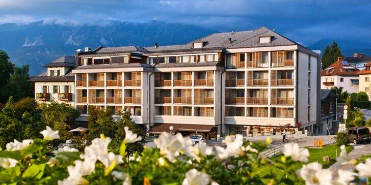 Dovolená u slovinského jezera Bled: 4* hotel, snídaně a volný vstup do wellness