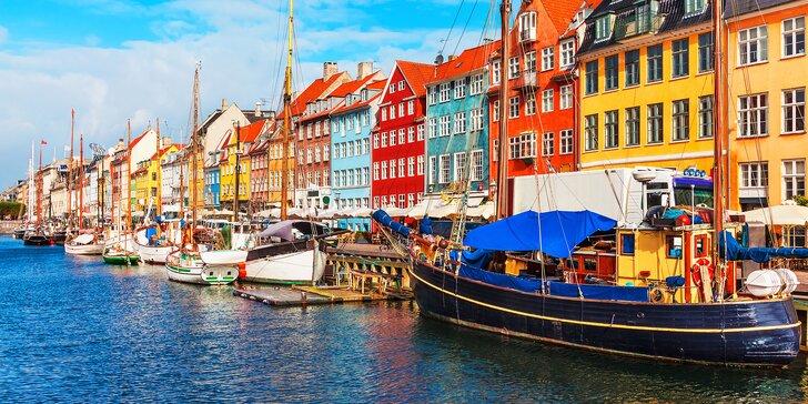 Autobusový zájezd do Kodaně: malá mořská víla, sídlo dánské královny i atrakce v zábavním parku Tivoli
