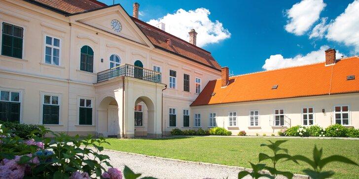Komentovaná prohlídka hraběnčiných komnat a freskového sálu na zámku Dukovany