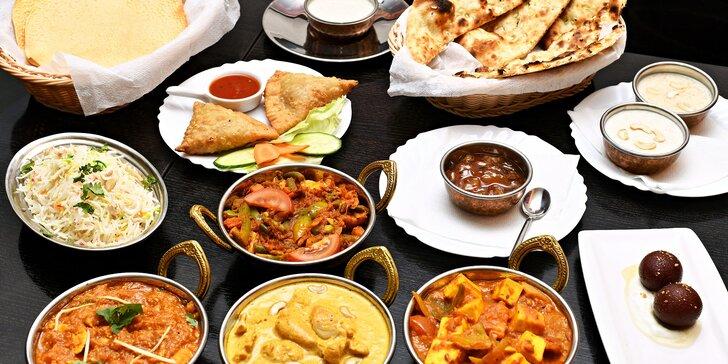 Vůně Indie: otevřené vouchery v hodnotě 750 a 1000 Kč do restaurace Mala India