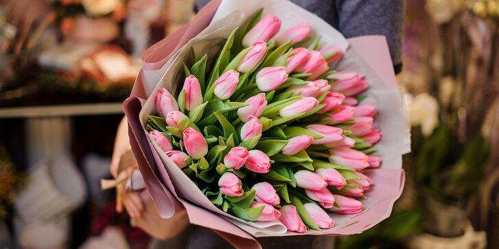 25, 51 nebo 101 holandských tulipánů, které vykouzlí úsměv na tváři