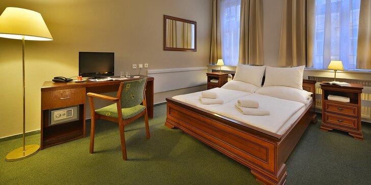 Elegantní hotel na Žižkově, bohaté snídaně a top místa Prahy na dosah