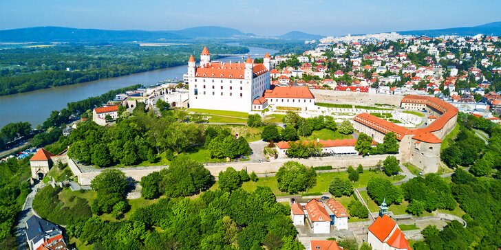 4* apartmány v bratislavském Starém Městě: komfortní ubytování se snídaní