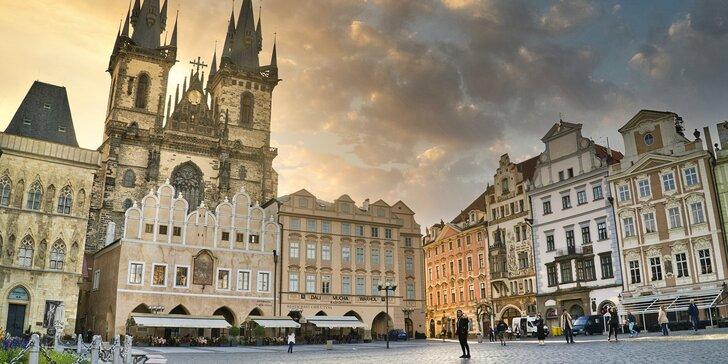 Pražské toulky: outdoorová únikovka pro 2–5 hráčů v historickém centru hlavního města
