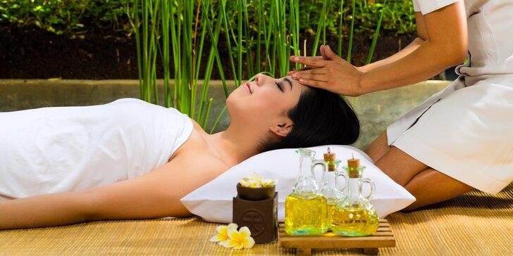 Luxusní balíček: 100 minut relaxace s masáží a aroma lázní v Royal Jasmine Spa