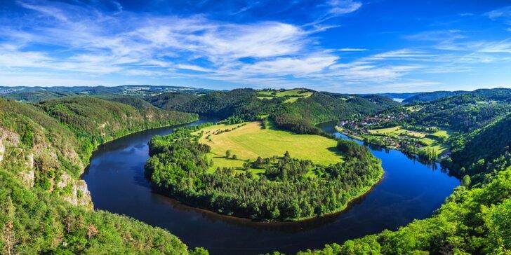 Malebné střední Povltaví: pobyt s polopenzí nedaleko Orlické přehrady