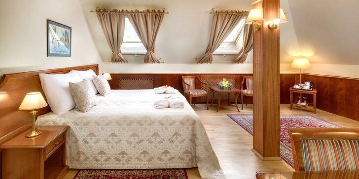 Dovolená v centru Prahy: elegantní 4* hotel se snídaní, termíny až do prosince