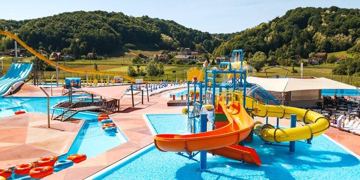 Dovolená v Chorvatsku: 4* hotel se stravou, neomezený vstup do 2 aquaparků