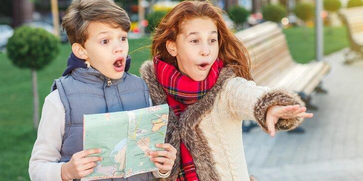 Venkovní šifrovací hry v Olomouci pro dospělé či děti