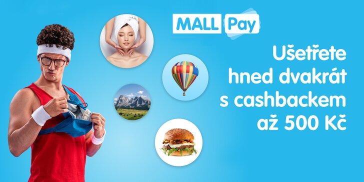 Nakupte na Slevomatu se Skipovací platební kartou od MALL Pay a získejte zpět až 500 Kč