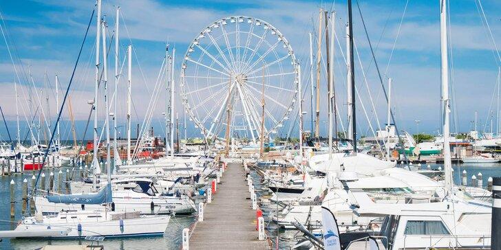 Letní dovolená v italském Rimini: 4* hotel se snídaní přímo u moře
