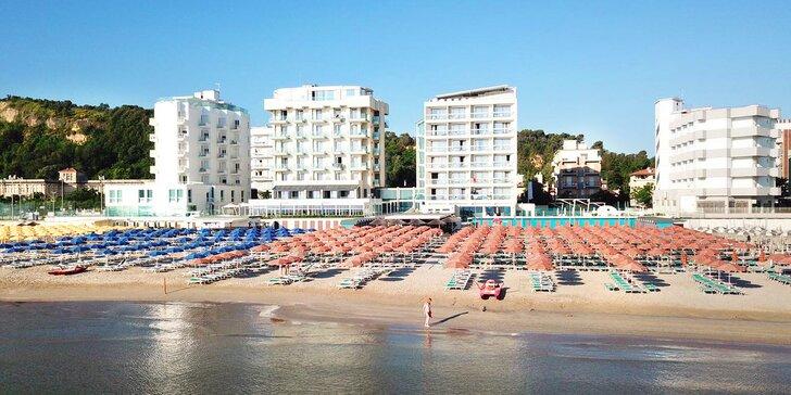 4* dovolená v Itálii se soft all inclusive: hotel s bazénem, přímo u písečné pláže