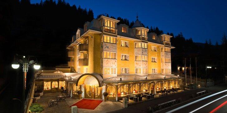 Léto v italských Alpách: 5* hotel v Madonna di Campiglio, snídaně a vstup do wellness