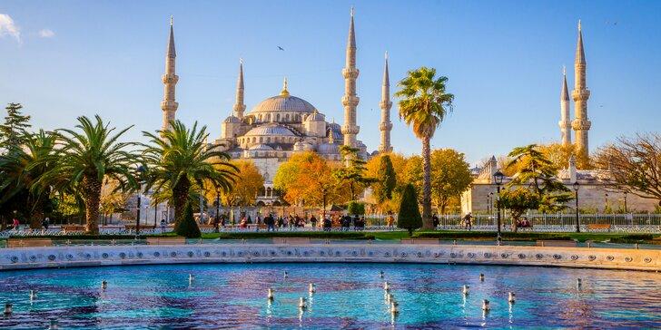 Brána Orientu: poznávací zájezd do Istanbulu, 3 noci vč. snídaně a průvodce