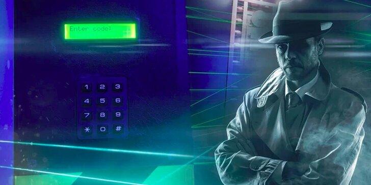 Úniková hra Dědictví pro 2–6 hráčů: zbavte se laserové sítě a otevřete trezor během 60 minut