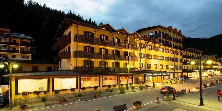 Léto v Itálii: 4* hotel v Madonna di Campiglio, polopenze a spousta výletů