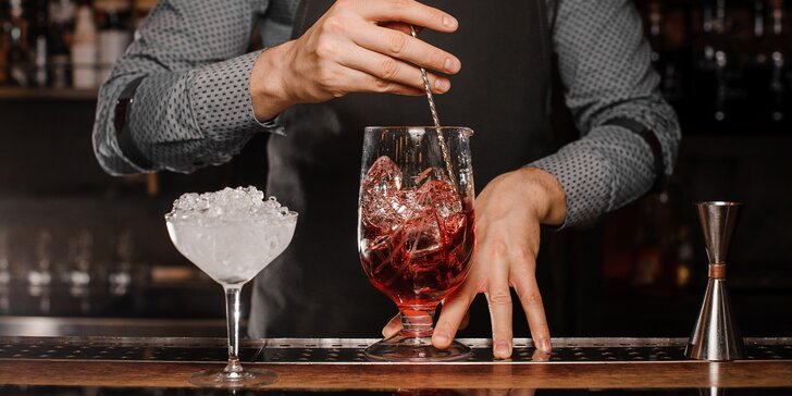 Jednodenní barmanský minikurz nebo 4denní kurz Flair Bartending