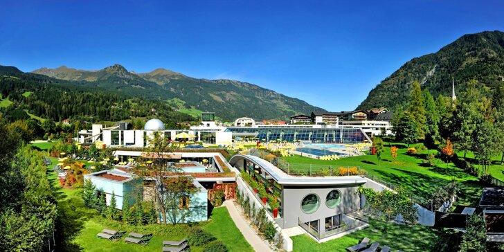 4* dovolená v Rakousku: ubytování s polopenzí, bazénem a rozlehlým parkem