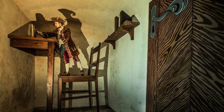 Gulliverova cesta do říše obrů a liliputů pro dva až pět hráčů