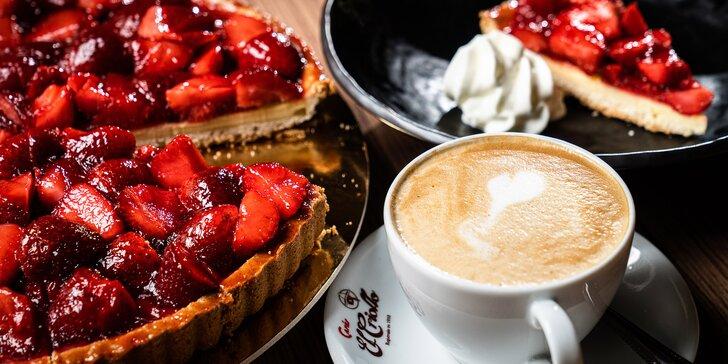 Sladká siesta: káva a dezert podle výběru pro 1 nebo 2 osoby