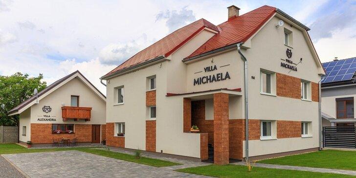 Až 15denní pobyt na Liptově až pro 4 osoby: apartmán či celá vila