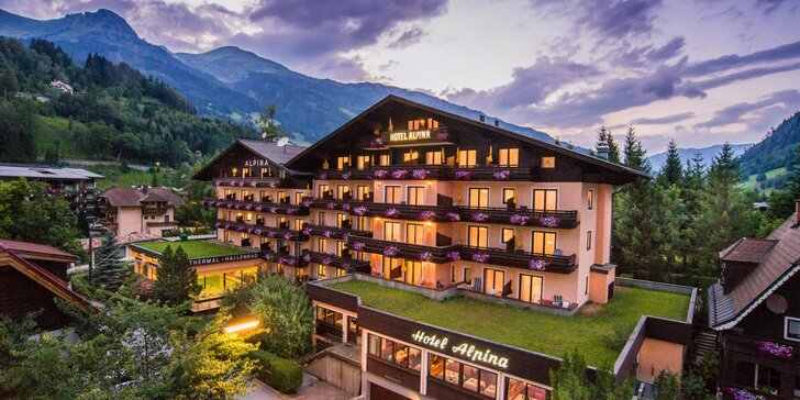 Aktivní dovolená v rakouských Alpách pro pár i rodinu: 4* hotel s polopenzí