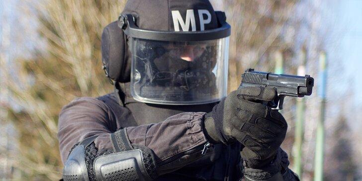 Staňte se na 5 hodin členem SWAT: zapůjčení výzbroje, taktický výcvik, střelba i diplom o absolvování