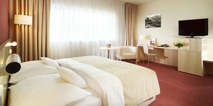 4* pobyt v moderním hotelu v centru Ústí nad Labem s polopenzí