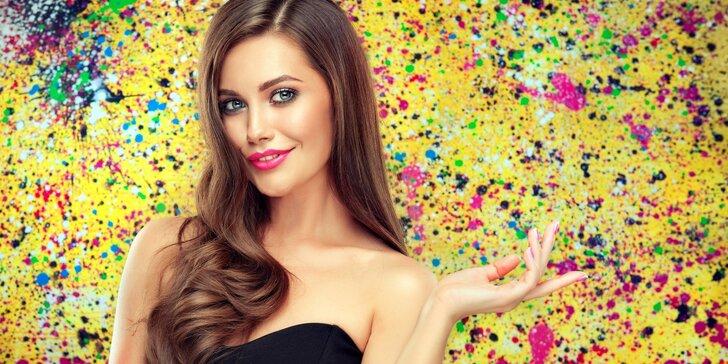 Kadeřnický balíček pro všechny délky vlasů včetně Olaplexu: barva či melír