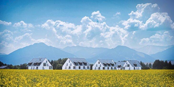 Slovenská dovolená: pobyt v apartmánech či studiu kousek od Tatralandie