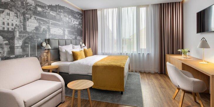 Relaxační pobyt v luxusní rezidenci pro pár i rodinu: snídaně a třeba i wellness