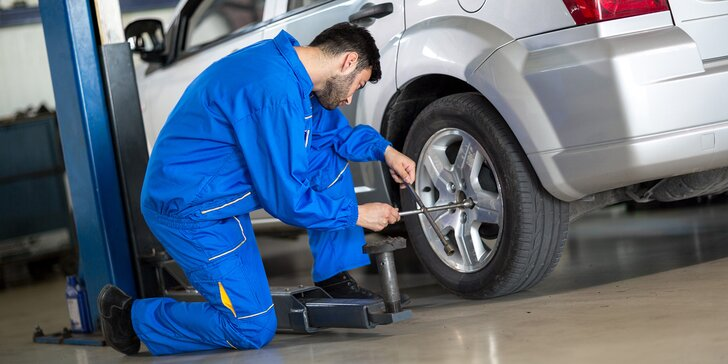 Pro jízdu v klidu: přezutí pneumatik včetně vyvážení a nahuštění