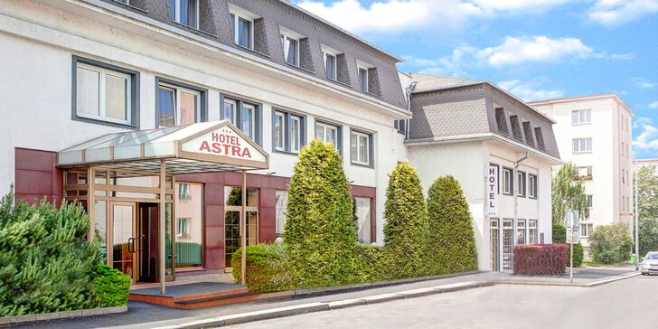 Ve dvou za krásami hlavního města: 3* hotel v klidné části Prahy, snídaně