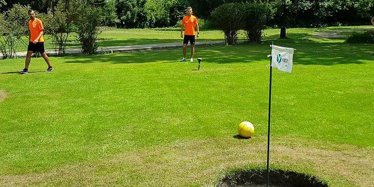 Zkuste golf jinak: denní nebo noční hra footgolfu pro 2 až 8 osob