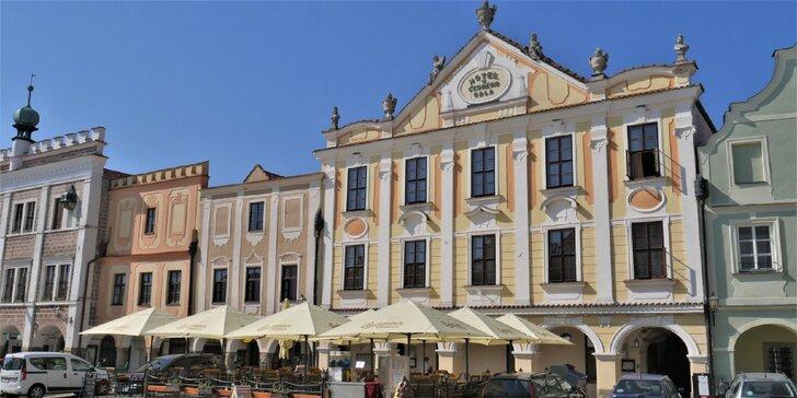 Pohodička v Telči: víkendy i všední dny na 2 až 5 dní pro 2 s polopenzí i vínem