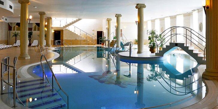 Pobyt v Karlových Varech s polopenzí, neomezeným wellness i koupelí