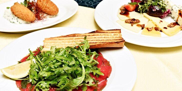 Poskládejte si 3chodové menu v Café Mozart na Staroměstském náměstí