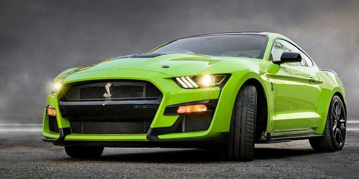 Superjízda v Mustangu GT Shelby na 15–60 minut včetně paliva